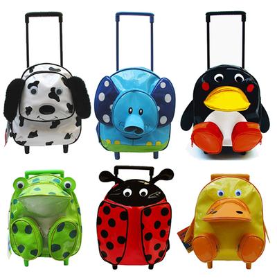 Ведь каждая из этих детских сумок снабжена парой колес и удобной ручкой.